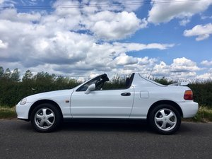 1992 Fabulous  HONDA CIVIC CRX F.SH. Low mileage For Sale