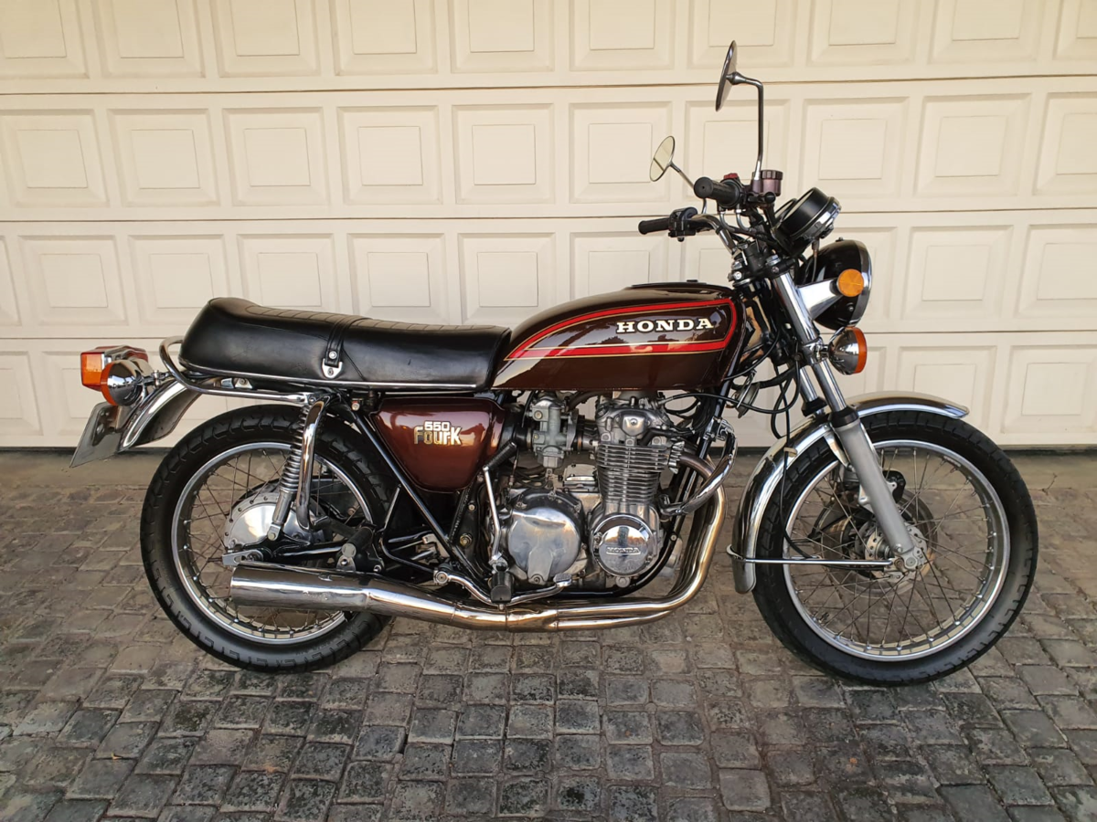 1977 Honda CB550k  as new with only 6000km! SOLD (picture 1 of 6)