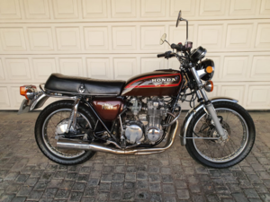 1977 Honda CB550k  as new with only 6000km!