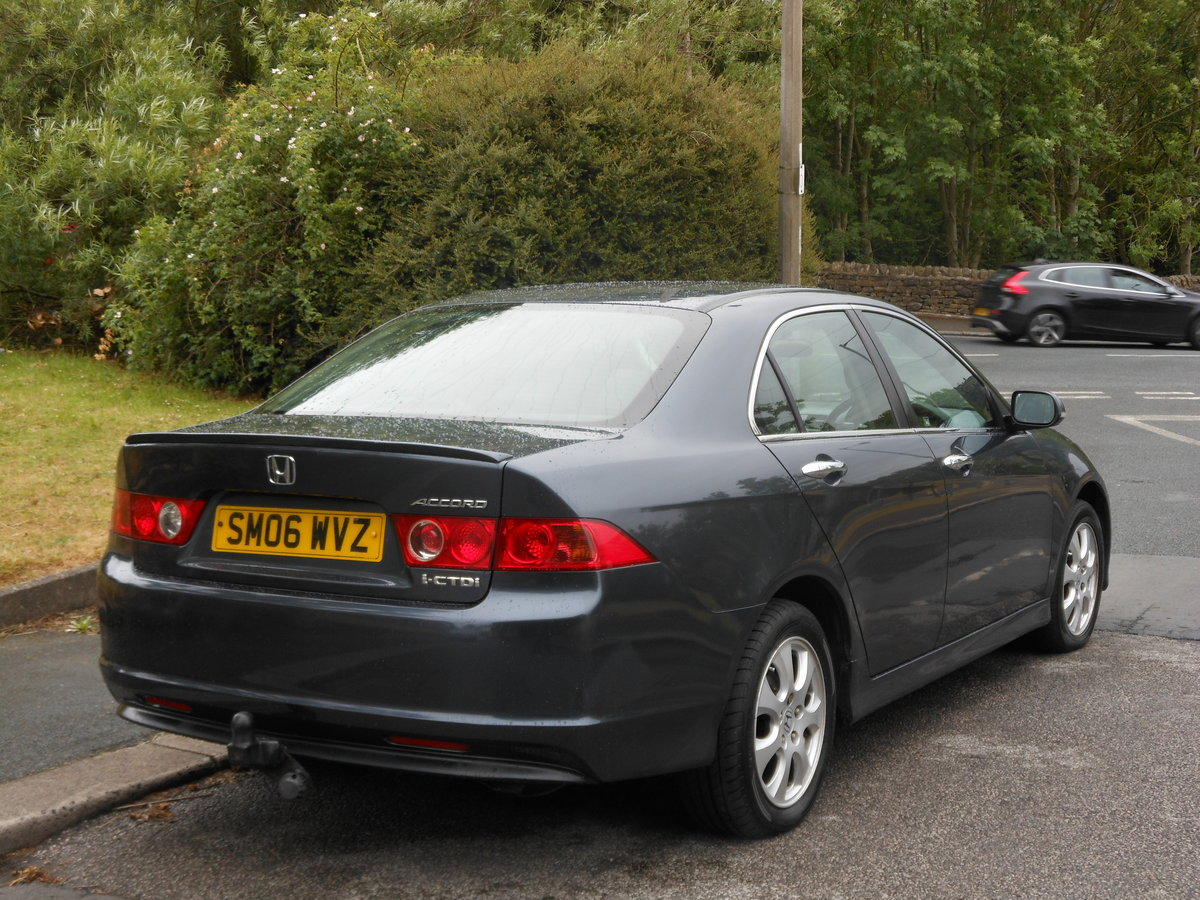 2006 Honda Accord 2.2 CTD-i Sport 6SPD Face Lift + FSH For Sale (picture 2 of 6)