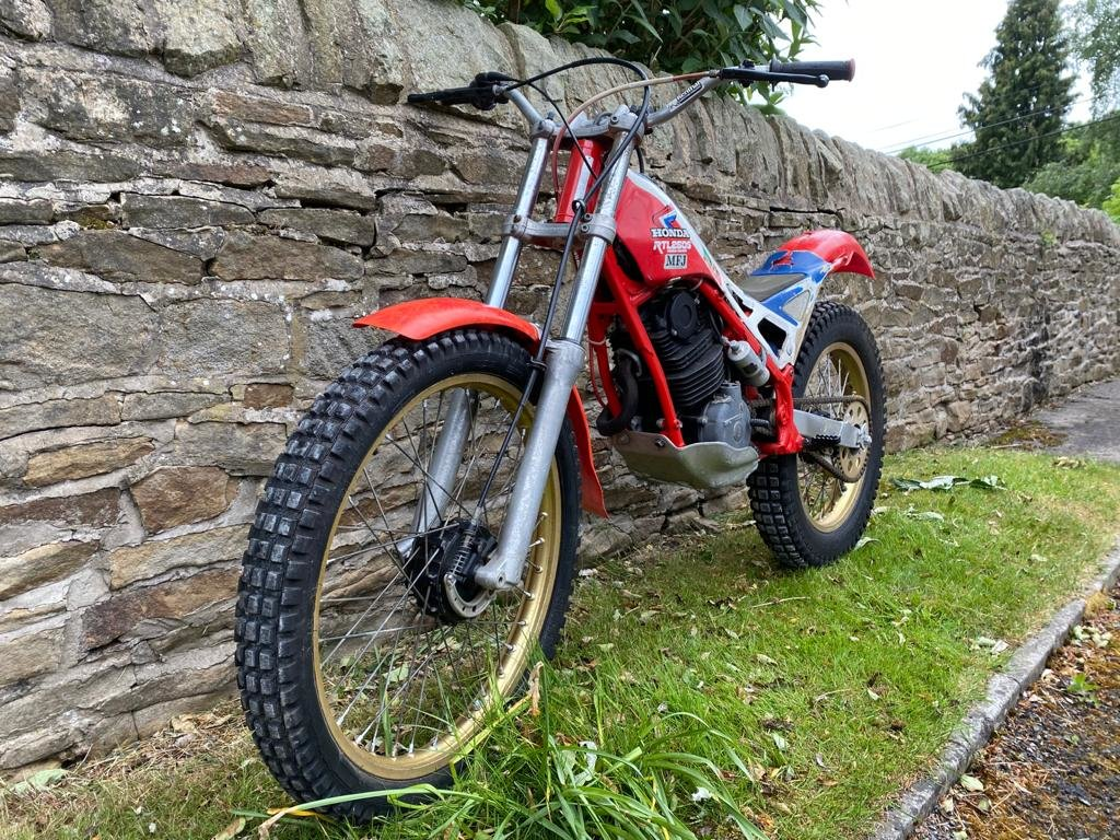 HRC Honda RTL250S RTL250 Classic Trials 1985/1986 For Sale (picture 4 of 6)