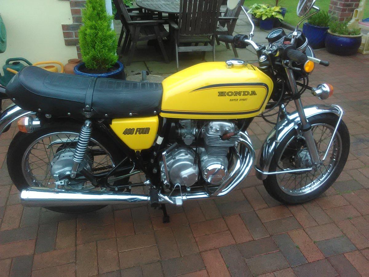 1979 Honda 400 Super Sport SOLD (picture 1 of 5)