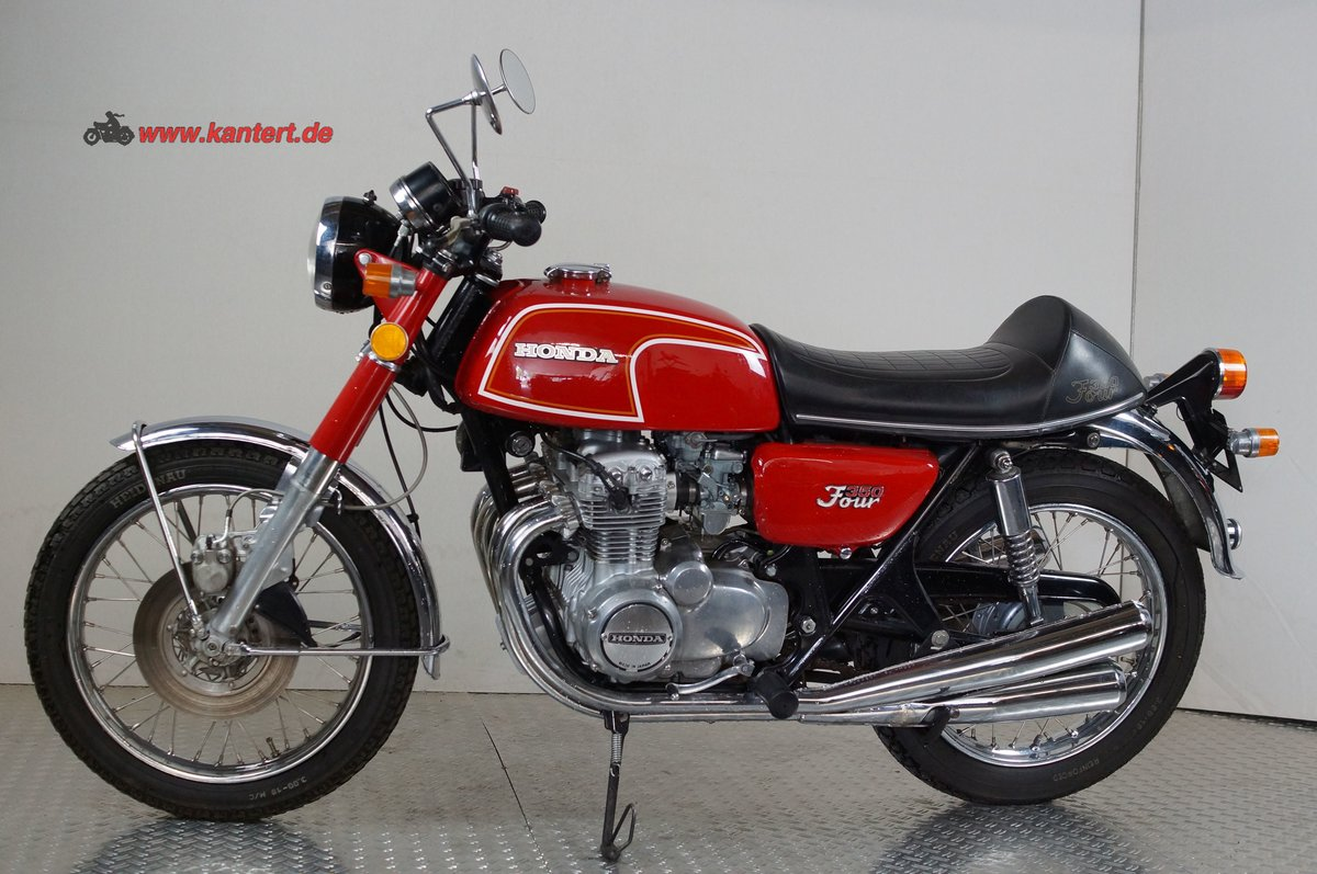 1974 Honda CB 350 Four, 344 cc, 37 hp For Sale (picture 1 of 12)