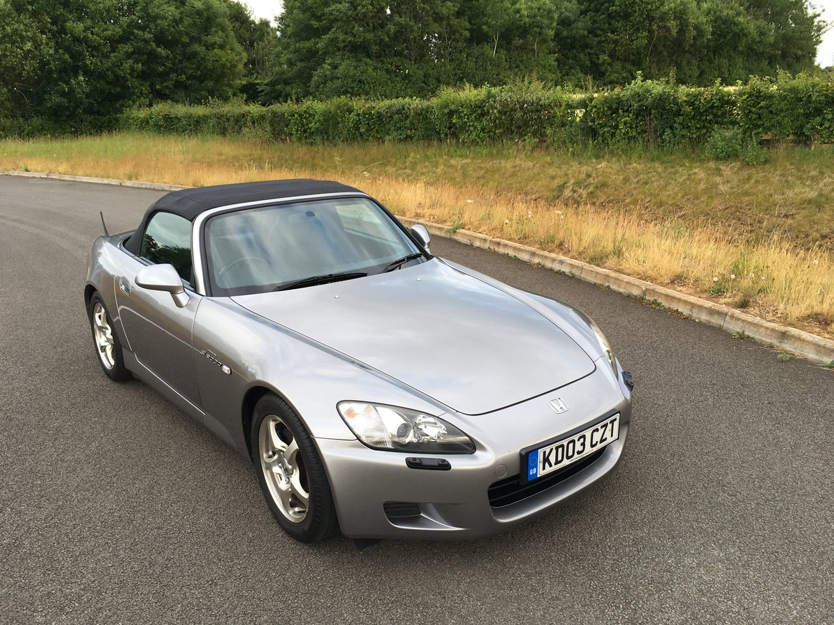 2003 20003 Honda S2000 GT Low Mileage with Full History SOLD (picture 1 of 6)