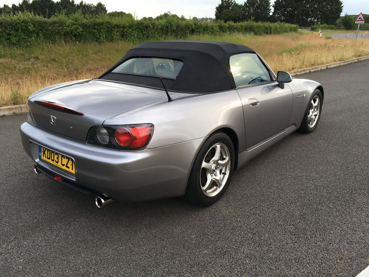 2003 20003 Honda S2000 GT Low Mileage with Full History SOLD (picture 2 of 6)