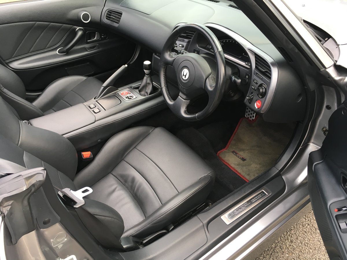 2003 20003 Honda S2000 GT Low Mileage with Full History SOLD (picture 5 of 6)