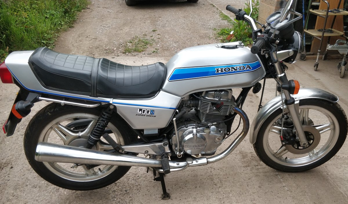1979 Honda CB400N Super Dream. 20800 miles. Superb. For Sale (picture 2 of 6)