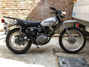 Honda Xl 250 Motorsport
