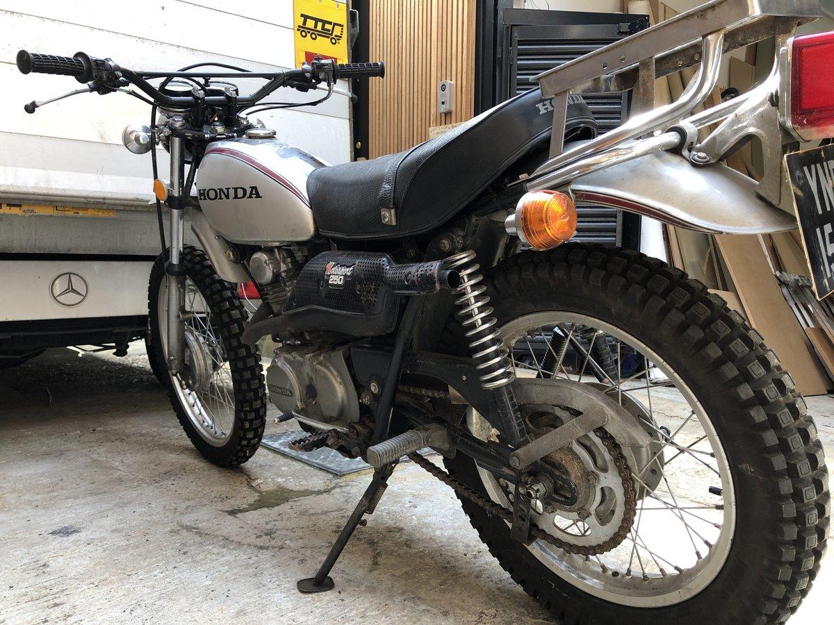 1973 Honda Xl 250 Motorsport SOLD (picture 3 of 6)