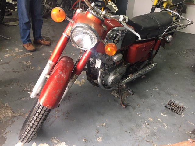 1976 RARE HONDA CD 175 For Sale (picture 1 of 4)