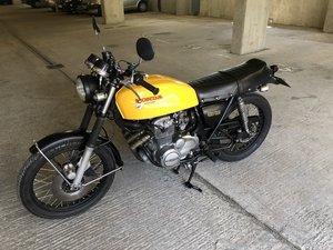 1977 A classic Honda CB400 Superfour