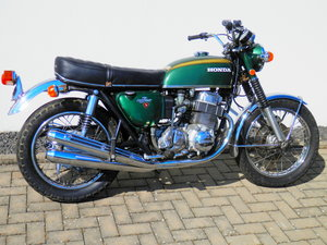 Picture of 1971 Honda CB750 Four only 15.000 Miles original paint SOLD