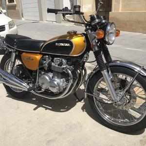 1971 Honda CB500 Four K0