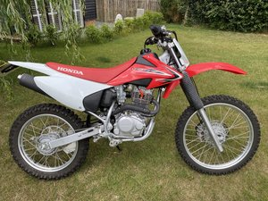 Honda crf230 fd trail bike road registered as new!