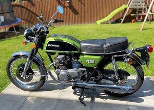 Honda CB200 Restored