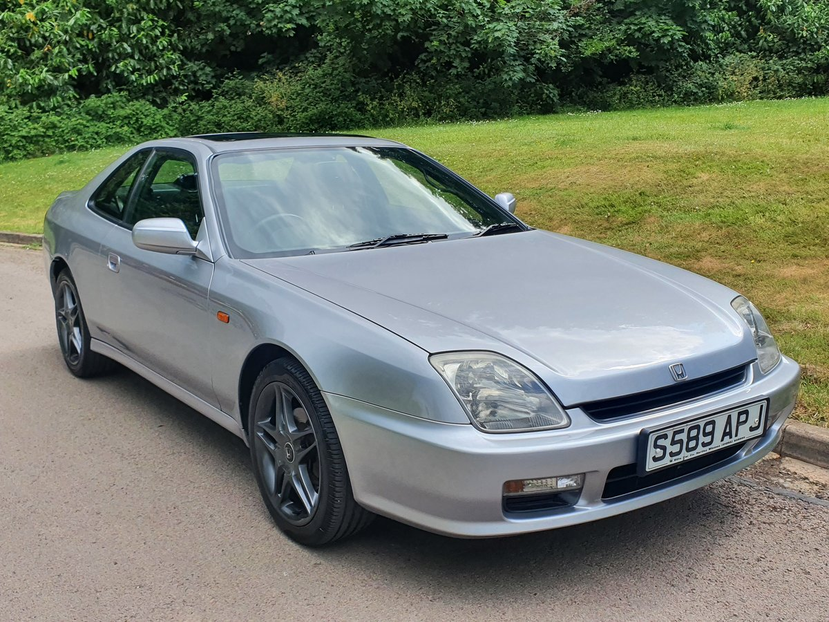 1998 Honda Prelude 2.2 VTi Auto.. 4WS.. Nice Example & FSH For Sale (picture 2 of 6)