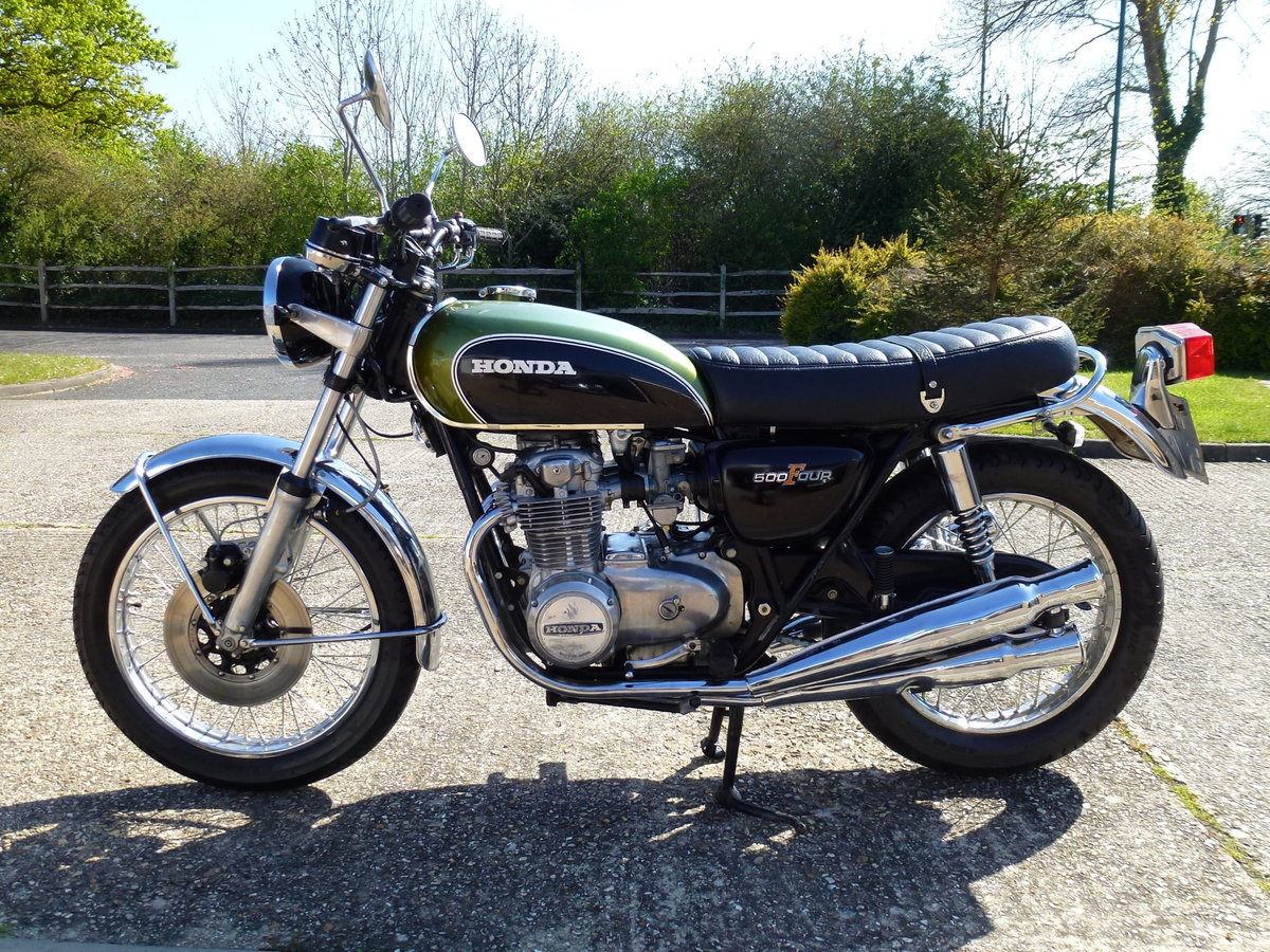 1972 Honda CB500 Four K1 For Sale (picture 1 of 1)