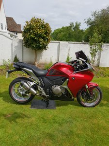 2010 Vfr1200f. Immaculate condition. Many extras. 5450