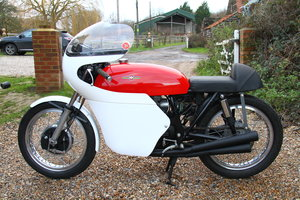 1975 Derek Minter Gilera Replica - Based on CB400 Four