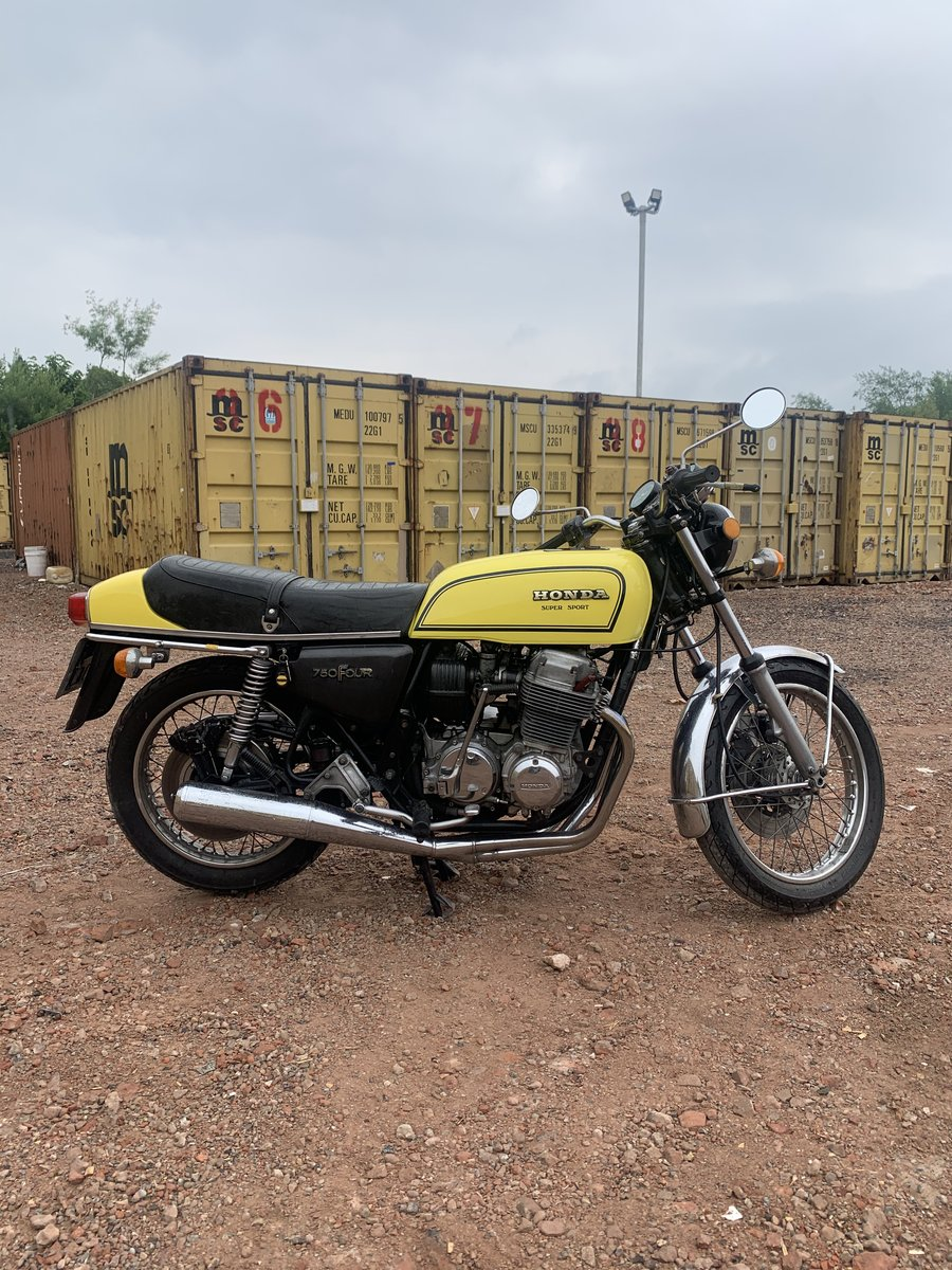1976 CB750 F Supersport Beautiful example of a classic For Sale (picture 1 of 6)