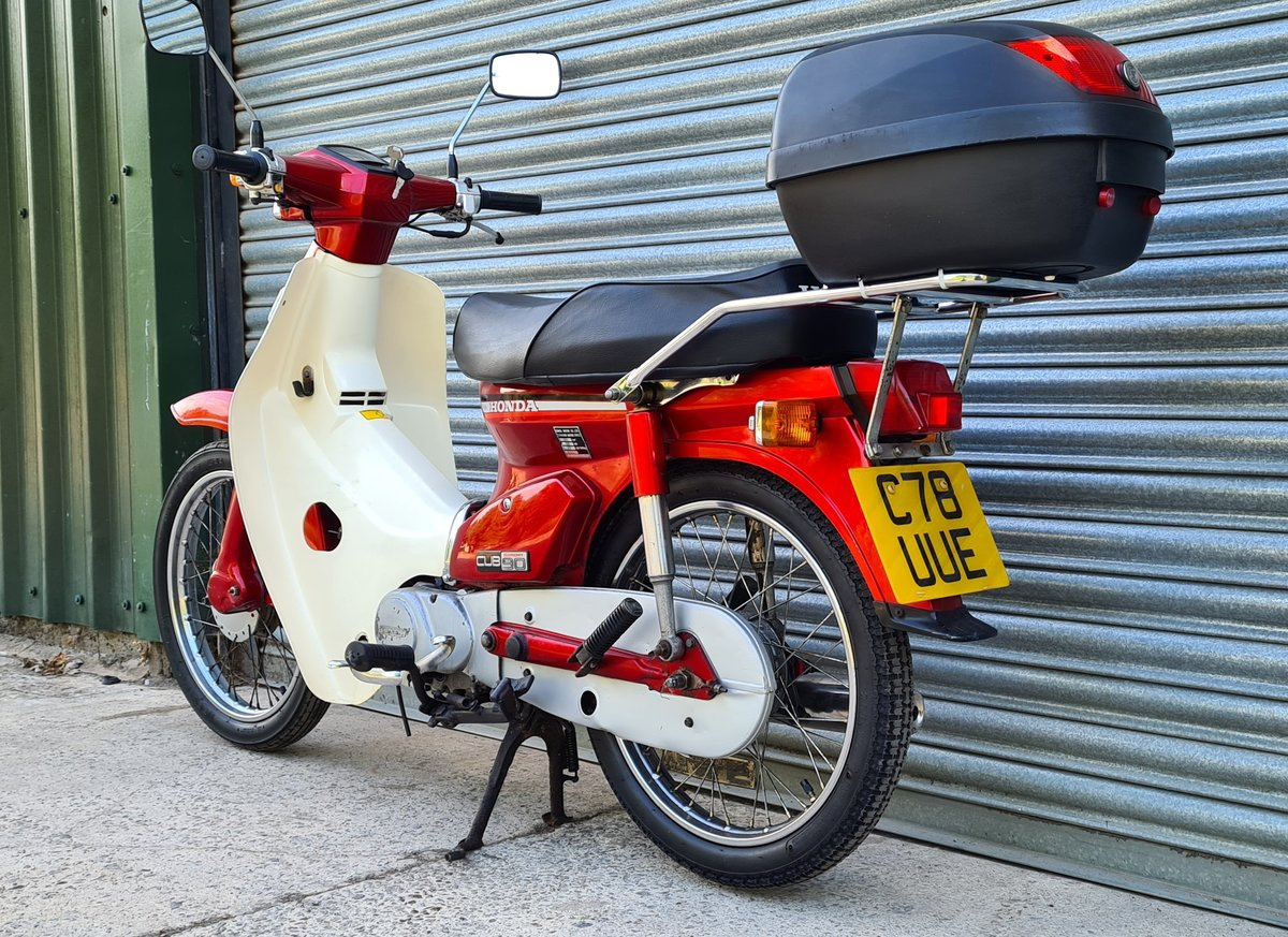 1985 Honda C90 Economy For Sale (picture 3 of 12)