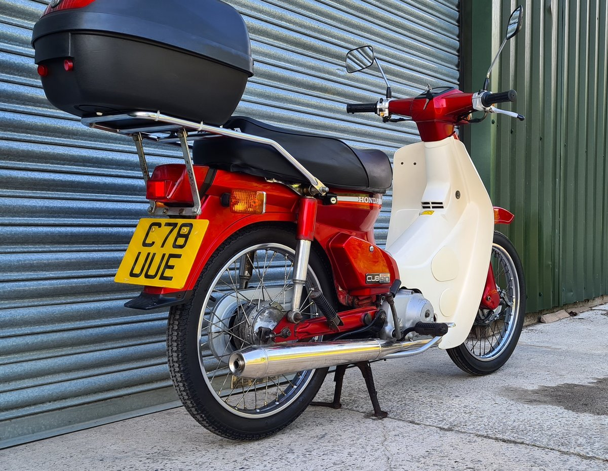 1985 Honda C90 Economy For Sale (picture 6 of 12)