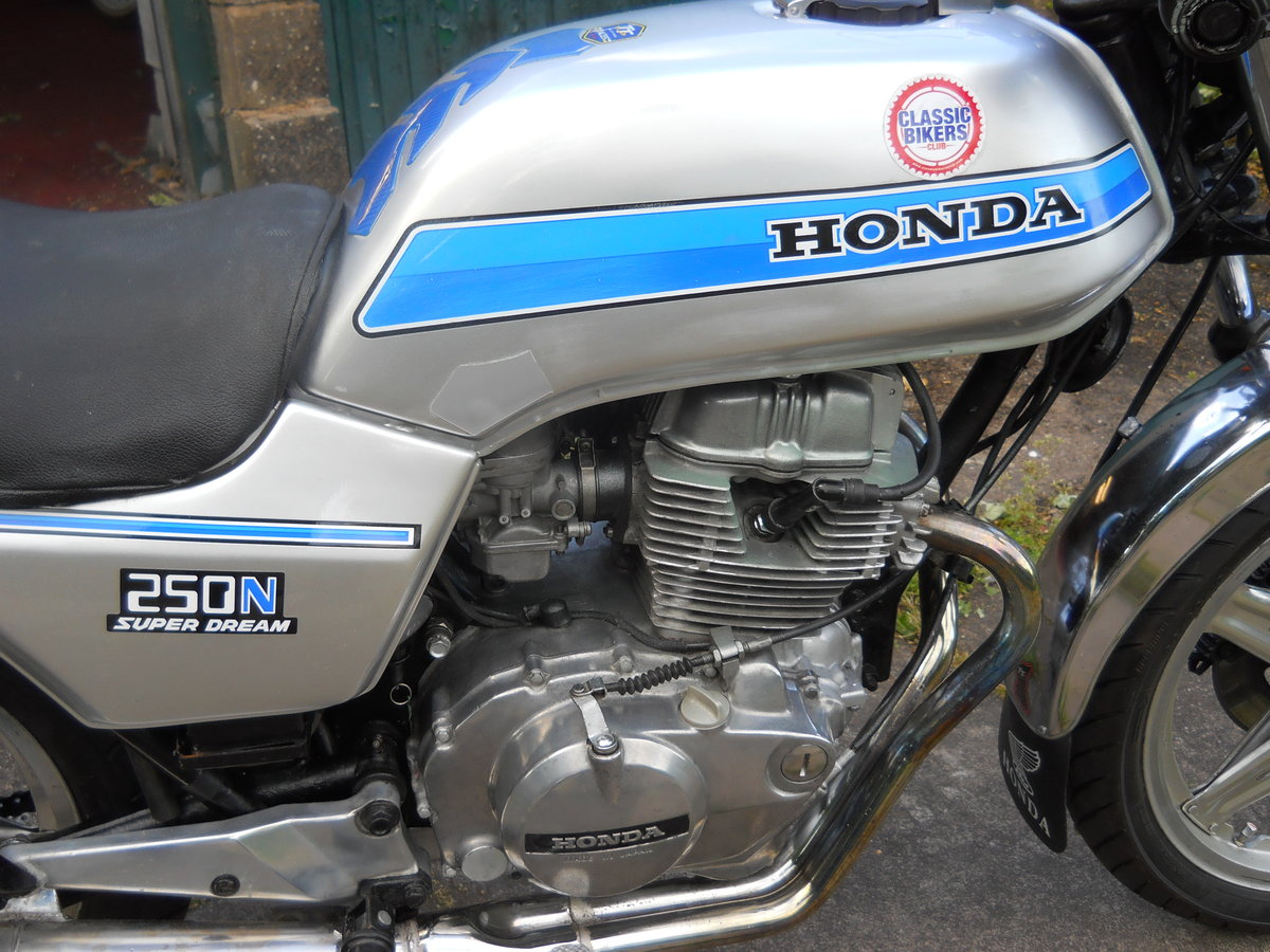 1980 Honda CB250N SOLD (picture 4 of 6)