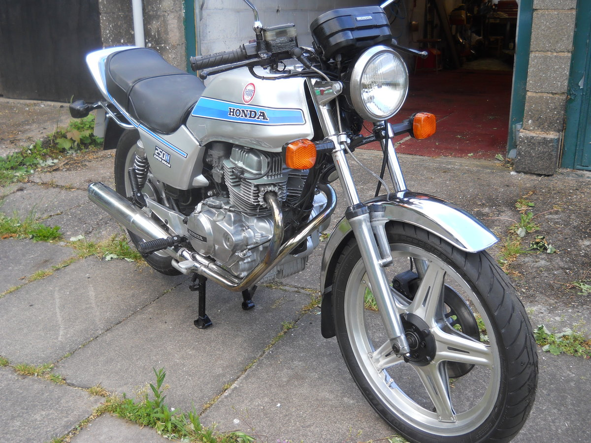 1980 Honda CB250N SOLD (picture 6 of 6)
