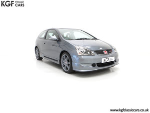2005 A UK Honda Civic Type R EP3 with 42,981 Miles