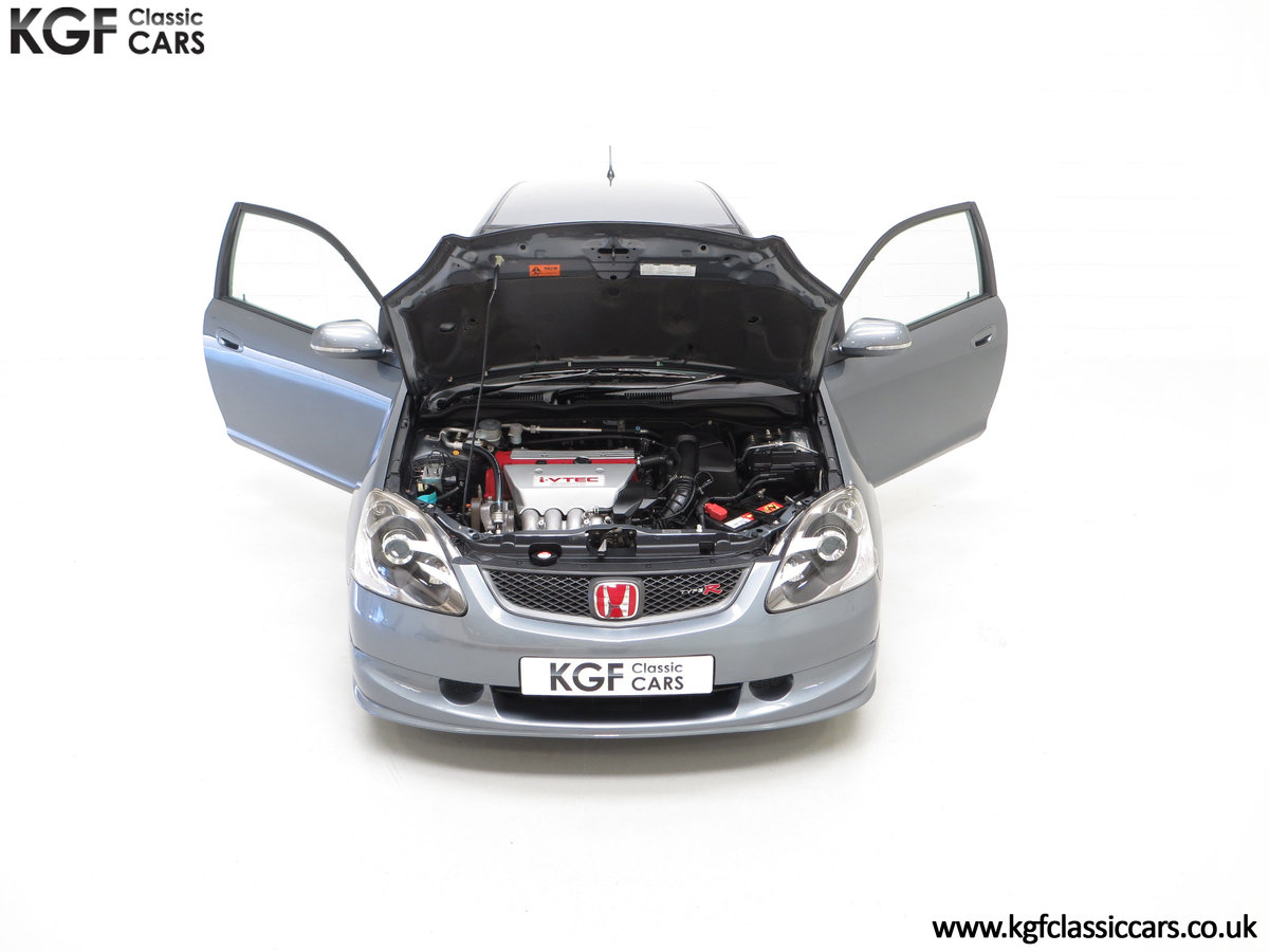 2005 A UK Honda Civic Type R EP3 with 42,981 Miles SOLD (picture 4 of 24)