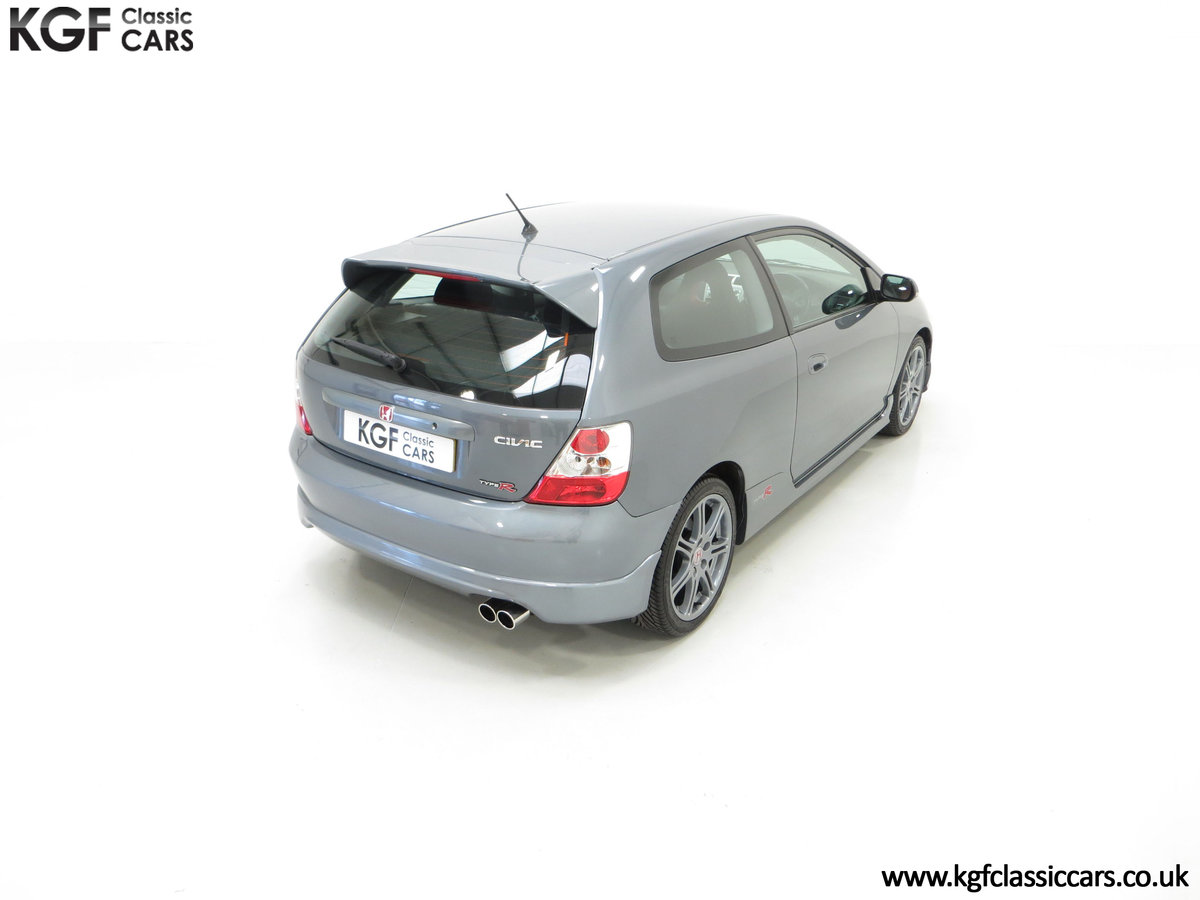 2005 A UK Honda Civic Type R EP3 with 42,981 Miles SOLD (picture 10 of 24)