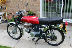 Honda 50 ss sports moped