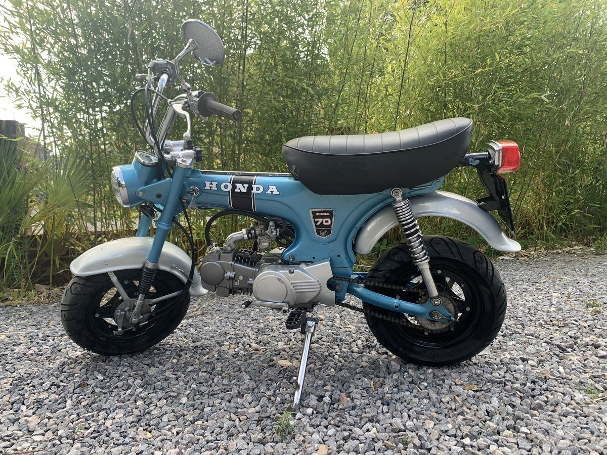 Picture of 1972 Honda ST70 monkey bike For Sale