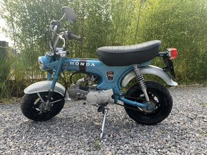 Honda ST70 monkey bike