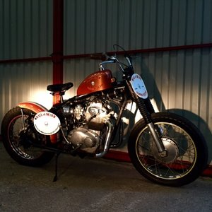 Picture of 1972 Florida State Circus Wall of Death Motorcycle