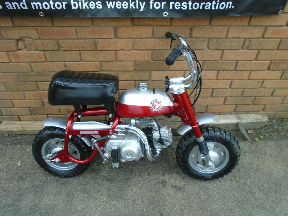 1969 HONDA Z50A K0 MINI TRAIL CANDY RED FULLY RESTORED SOLD (picture 1 of 6)