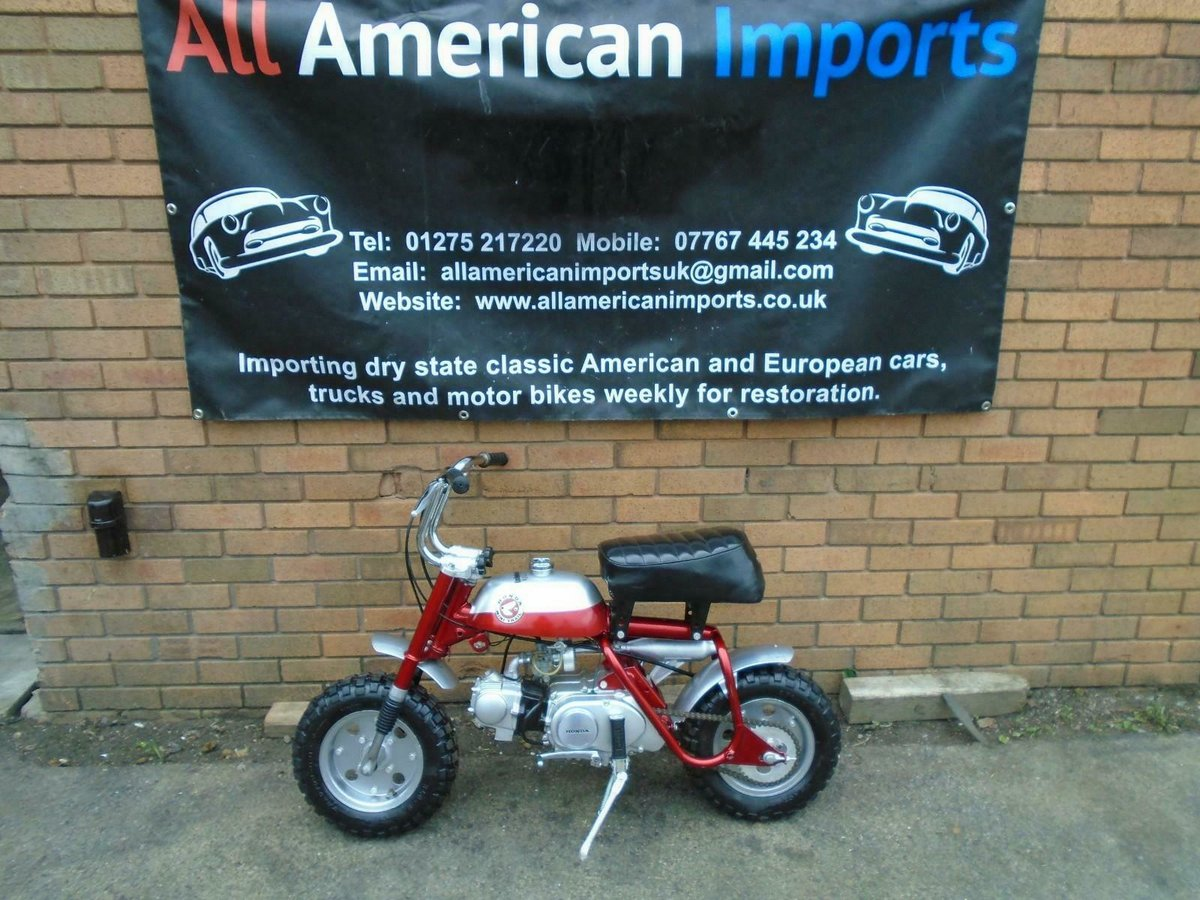 1969 HONDA Z50A K0 MINI TRAIL CANDY RED FULLY RESTORED SOLD (picture 2 of 6)