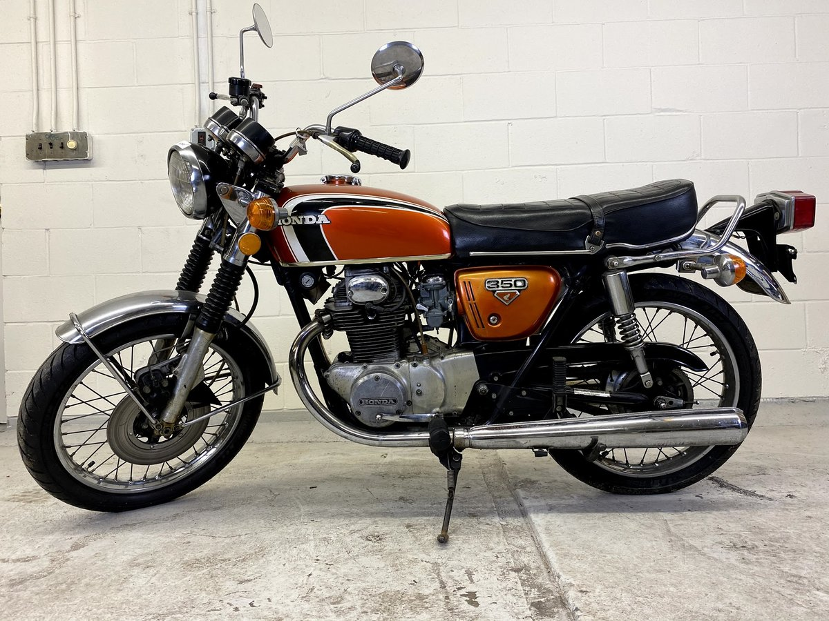1973 Honda CB350 Twin For Sale (picture 1 of 6)