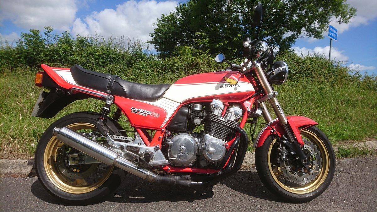 1981 Honda CB900 F (Bol D'or) Custom SOLD (picture 1 of 6)