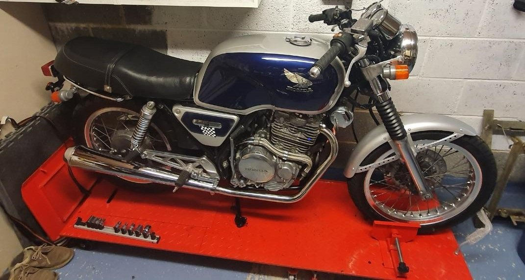 1987 Honda gb400tt cafe racer style For Sale (picture 1 of 6)