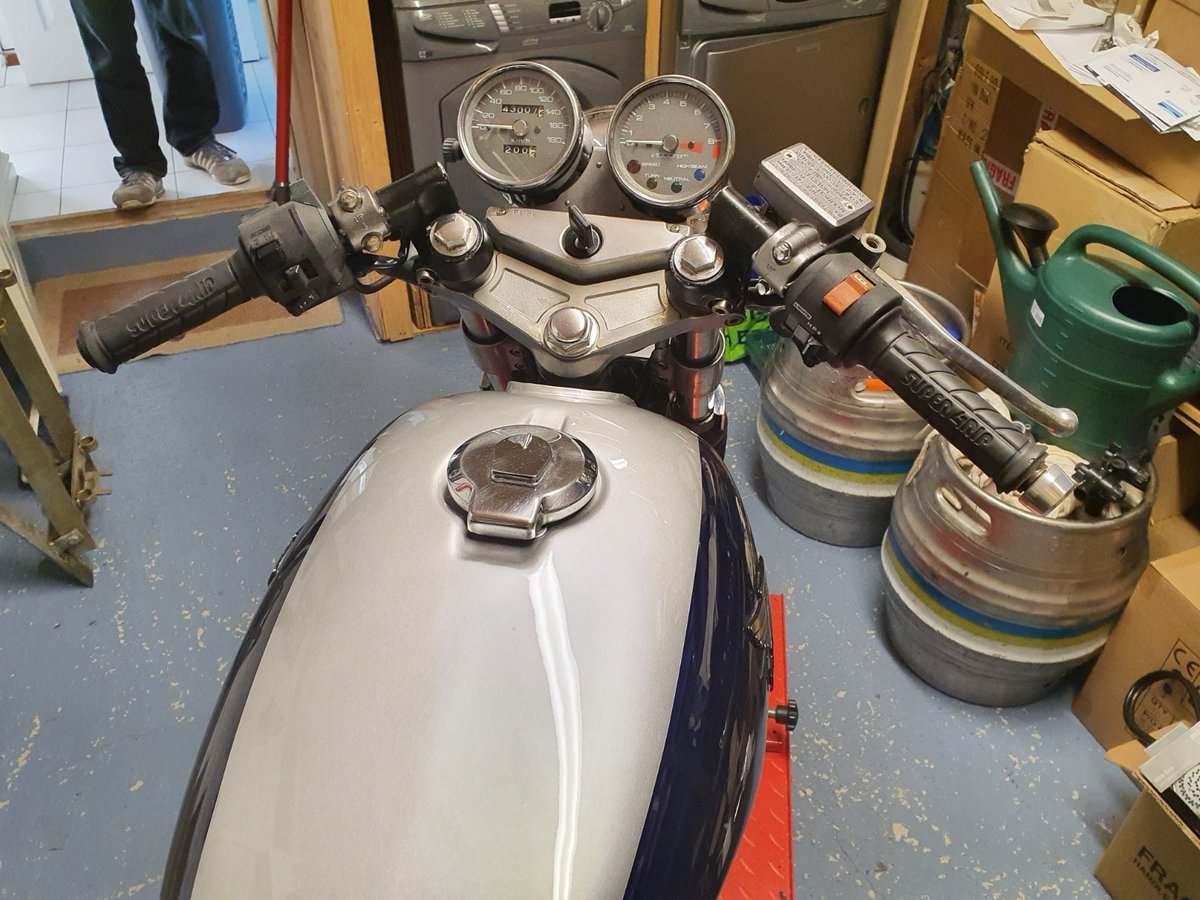 1987 Honda gb400tt cafe racer style For Sale (picture 2 of 6)