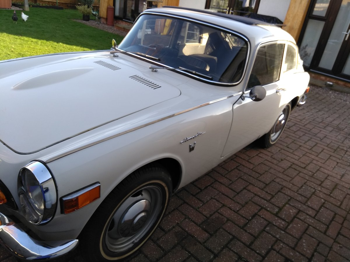 1968 Honda S800 Coupe nice example **Price Reduced** SOLD (picture 1 of 6)