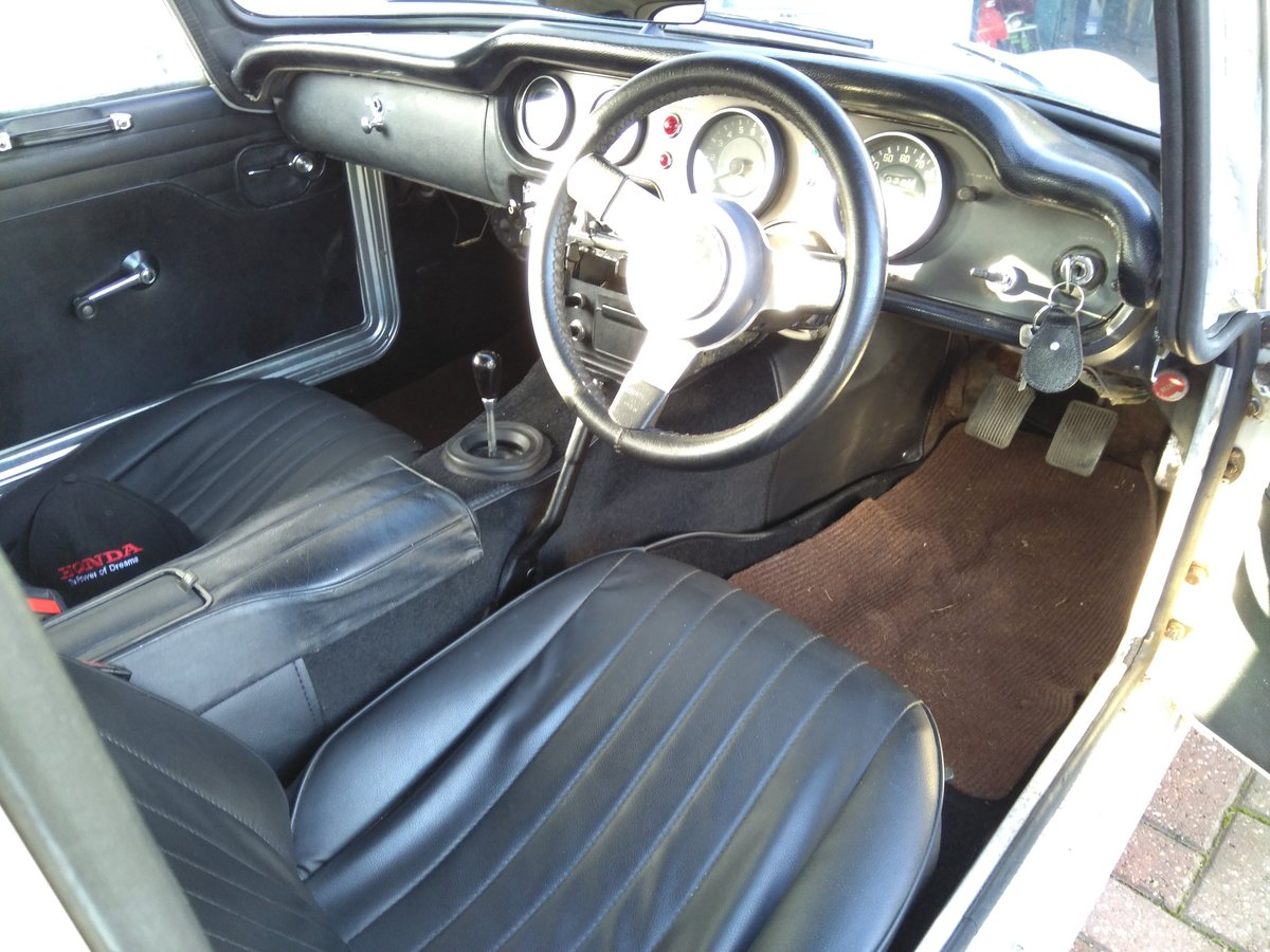 1968 Honda S800 Coupe nice example **Price Reduced** SOLD (picture 5 of 6)