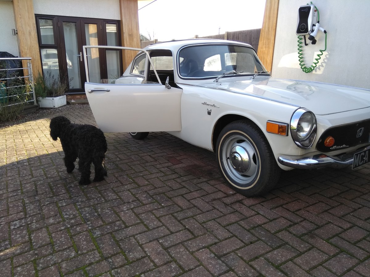 1968 Honda S800 Coupe nice example **Price Reduced** SOLD (picture 6 of 6)
