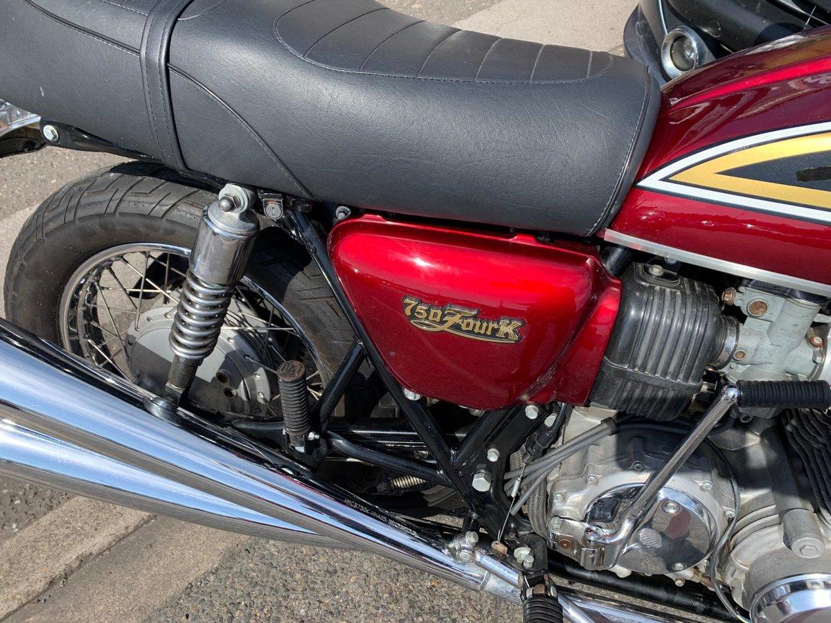 1977 HONDA CB750 classic suoer bike For Sale (picture 4 of 6)