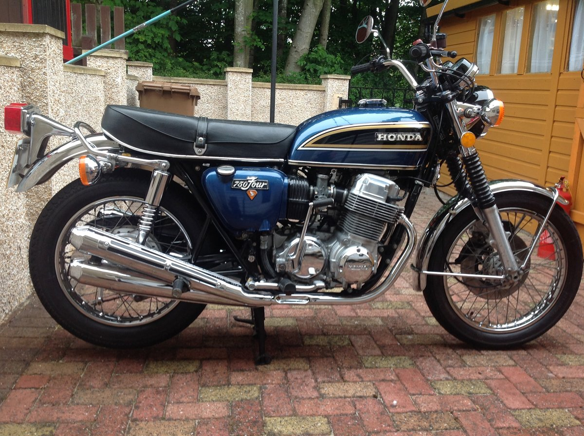 1975 Honda CB750 SOLD (picture 1 of 6)