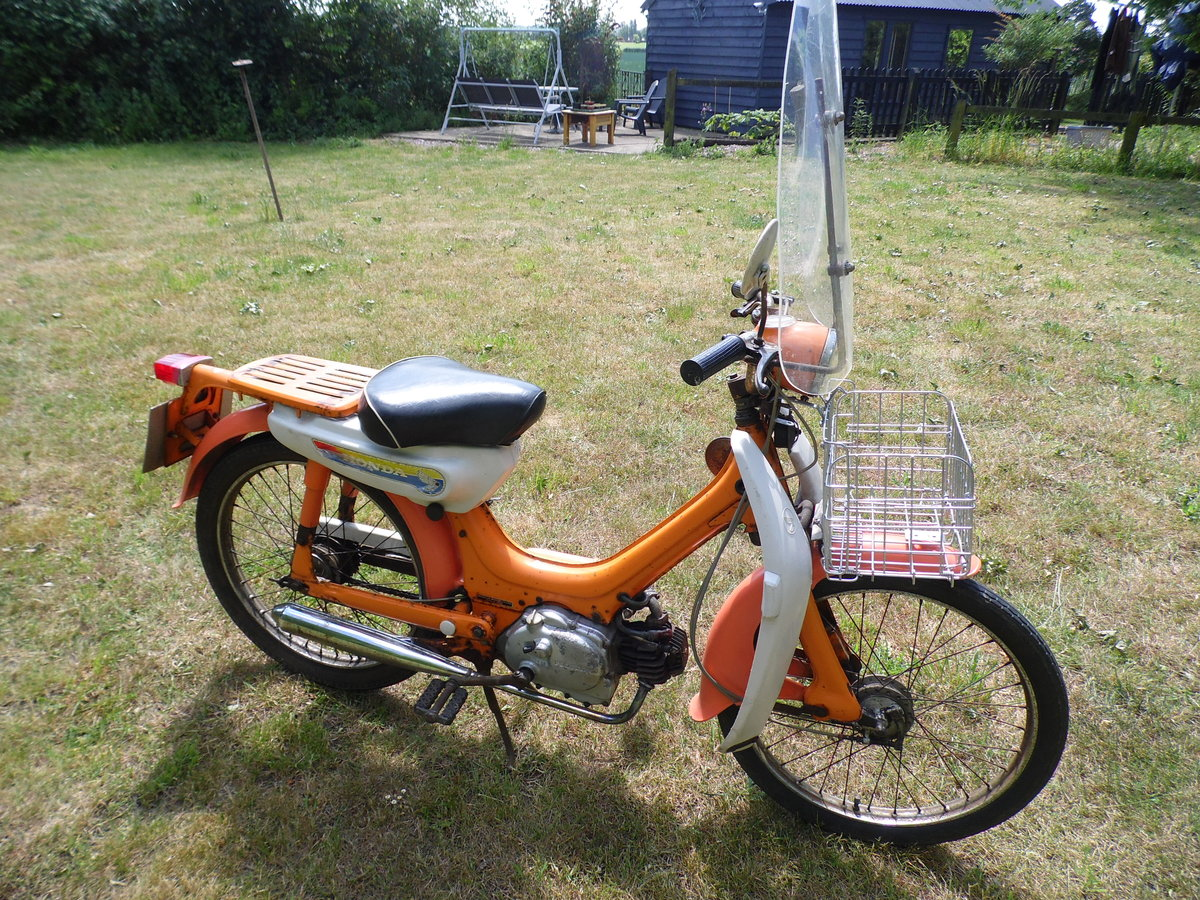 1974 Honda pc50 with rare additions and private plate For Sale (picture 3 of 6)
