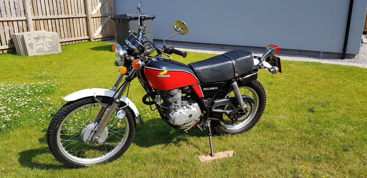 1977 Rare Honda XL 250 K3 For Sale (picture 1 of 6)