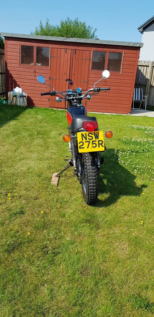 1977 Rare Honda XL 250 K3 For Sale (picture 3 of 6)