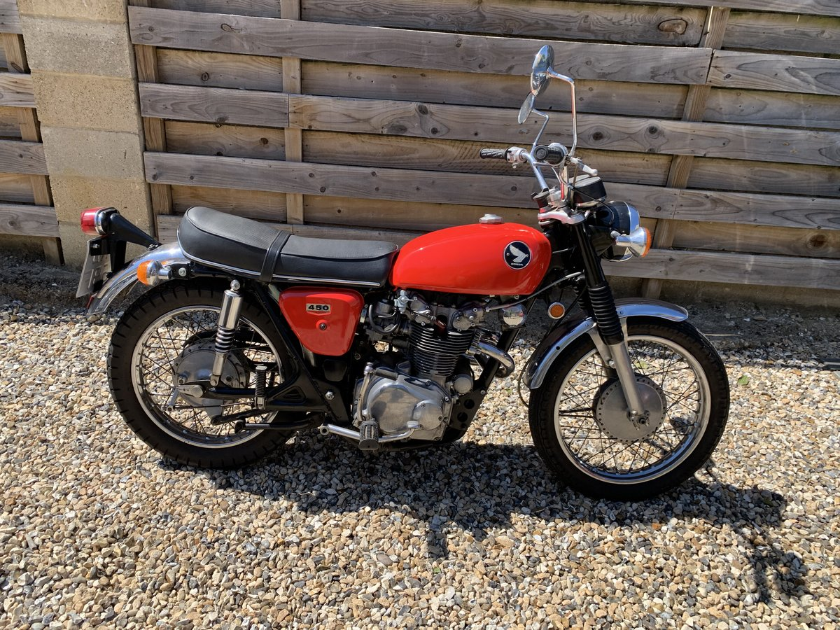 1968 HONDA CL 450 For Sale (picture 1 of 6)